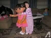 RARE LIFE SIZE Dora the explorer