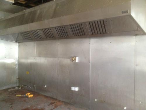 Commercial Kitchen Canopy Ebay