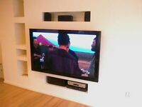 EXPERT TV MOUNTING SPECIALIST - SHELVES CUPBOARDS MIRRORS CURTAIN RAIL BLINDS - THE BEST SERVICE!