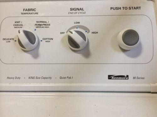 Kenmore Series Washer Ebay