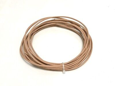 Automotive Wire 10 Awg High Temperature Gxl Wire Tan 50 Ft Made In U.s.a