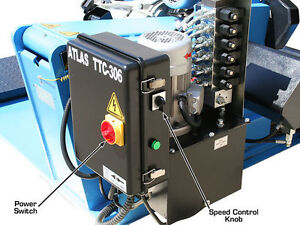 ATLAS - TTC306 Super Duty Truck Tire Changer 3PH - CLENTEC London Ontario image 7