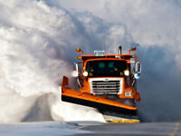 SNOW REMOVAL - Plow experience w/loader, $20/hr, details within