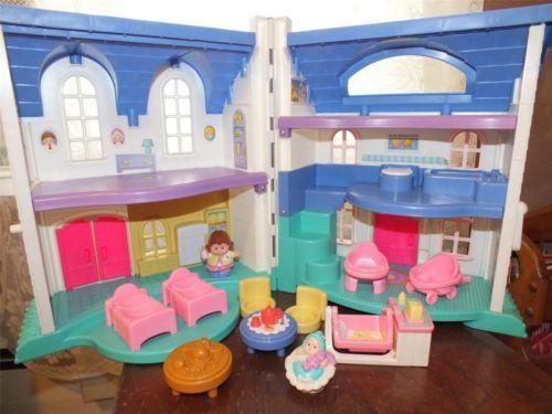 Fisher Price Little People Table Ebay