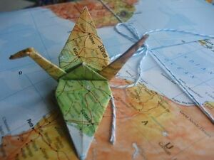 New Hand folded Origami Paper Cranes London Ontario image 4