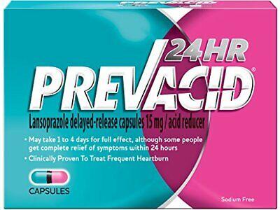 Prevacid 24HR, 15mg Capsules 42 Each