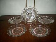 Hobnail Clear Glass