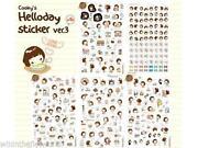 Korean Diary Stickers