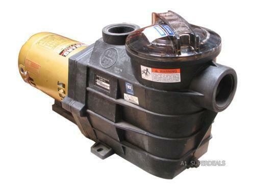 Hayward 2 hp pool pump motor ebay for Hayward 1 1 2 hp pool pump motor
