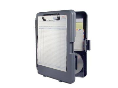 Saunders Workmate Ii Storage Clipboard - 0.5 Capacity - 6 Compartment - 10.66