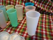 Tupperware Glasses with Lids