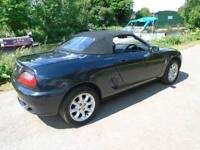 Mg sports car convertible black