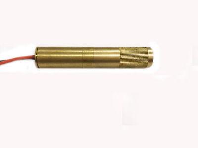 532nm 30mw Green Dot Laser Module Laser Diode Industrial Adjustable Focus Laser