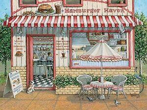 Cobble Hill Hamburger Haven Jigsaw Puzzle ..like NEW..500 pieces Cambridge Kitchener Area image 1