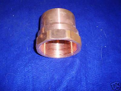 2  Copper Female Adapter Cxf Adapter Copper Sweat X Female Pipe