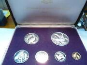 1973 British Virgin Islands Proof Set