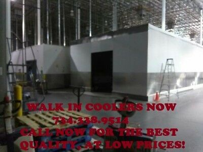 Walk-in Cooler 16w X 16d X 8h Bar Bakery Butcher Club Restaurant