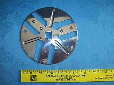 PARTS SEARS KENMORE FOOD PROCESSOR MODEL 400.693100 ICE CRUSHER BLADE DISC USED