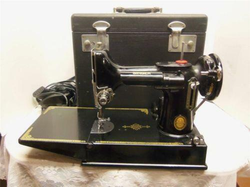 Black Singer Sewing Machine EBay Cool How Much Is My Singer Sewing Machine Worth