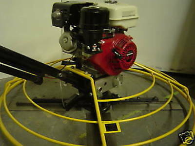 New Packer Brothers Pb46 Power Trowel 9hp Honda 46 48 Concrete Cement Gas