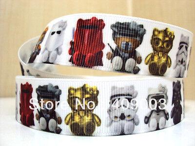 "Star Wars Lego Ribbon 7/8"" Wide NEW UK SELLER FREE P&P"