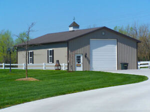 STEEL BUILDINGS - ANY SIZE AVAILABLE