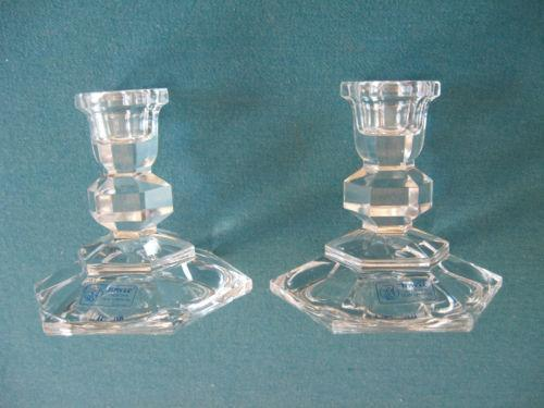 Towle Crystal Candle Holders Ebay