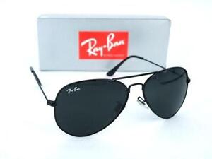 ray ban black aviators  ray ban aviator black medium