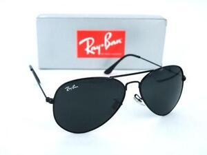 b8510f5345 Ray Ban Aviator Black Medium