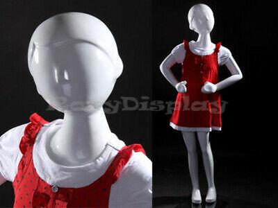 Child Fiberglass Abstract Mannequin Dress Form Display Mz-tom4