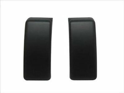 For FORD F150 FRONT BUMPER GUARDS INSERTS CAPS PADS LH RH 09 - 14 PAIR SET BLACK