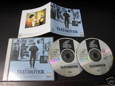 Film Taxi Driver Japan Video CD Scorsese Robert De Niro