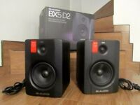 M audio bx5 monitor speakers