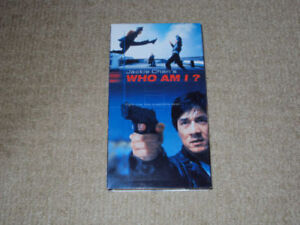JACKIE CHAN'S WHO AM I, VHS MOVIE, EXCELLENT CONDITION