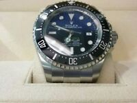 MENS ROLEX JAMES CAMERON DEEPSEA SEA DWELLER WITH BOX AND PAPERS