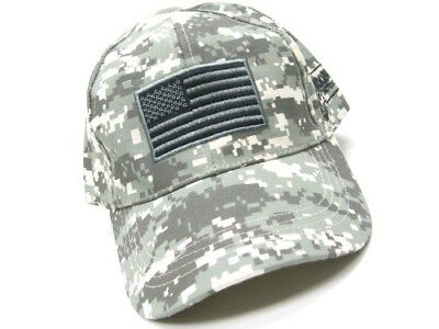 VOODOO TACTICAL Army Digital Tactical CAP Hat w/ USA Flag New! 20-935375000
