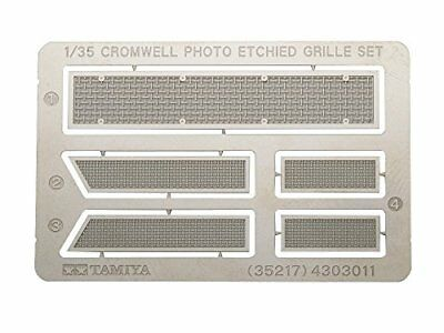 TAMIYA 1/35 German Tiger I Early Production Photo-Etched Grille Set Kit