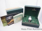 Ladies Rolex Watch Stainless Steel