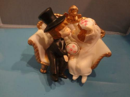 vintage wilton wedding cake topper ebay. Black Bedroom Furniture Sets. Home Design Ideas