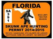 Florida Bumper Sticker