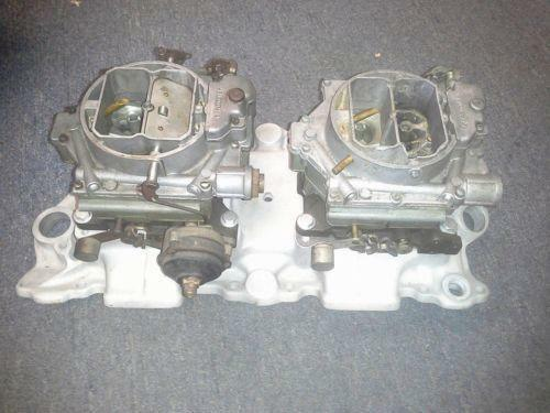 Corvette Dual Quad Parts Amp Accessories EBay
