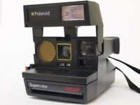 Polaroid Supercolor 670 AF Instant Camera.