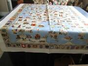 Vintage Souvenir Tablecloth