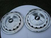 1957 Chevy Hubcaps