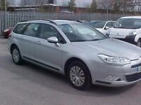 Hire My Car! Citroen C5 Estate, 61 plate, No deposit, No credit check & self employed welcome!