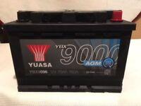 YUASA YBX9096 Car Battery New