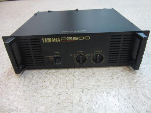 yamaha power amplifier ebay. Black Bedroom Furniture Sets. Home Design Ideas