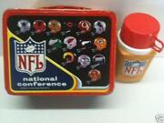 Vintage NFL Lunch Box