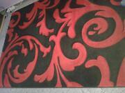 Teppich Rot Schwarz
