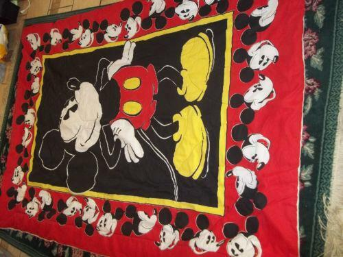 Mickey Mouse Twin Comforter Ebay